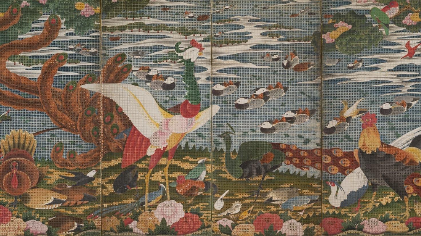屏風爛漫(静岡県立美術館|静岡)|EXHIBITIONS | 美術手帖