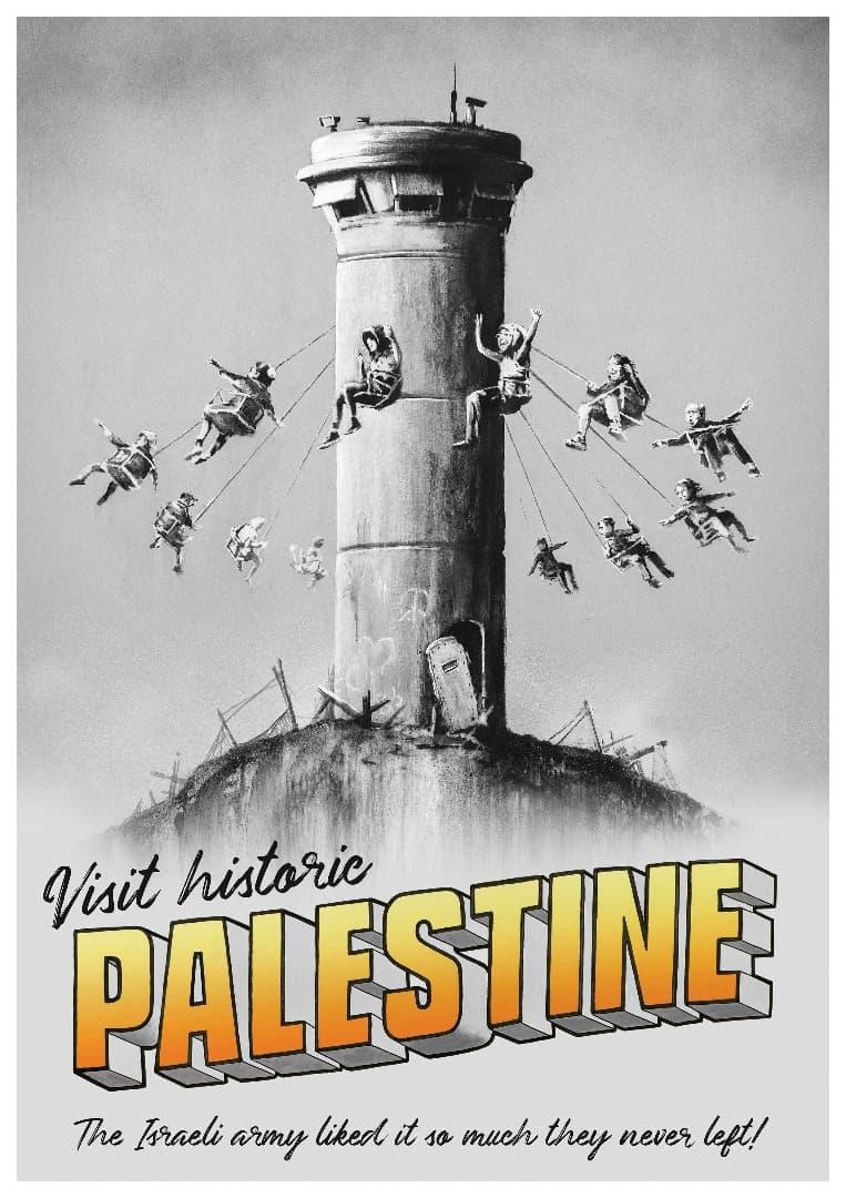 「バンクシーパレスチナポスター」の画像検索結果