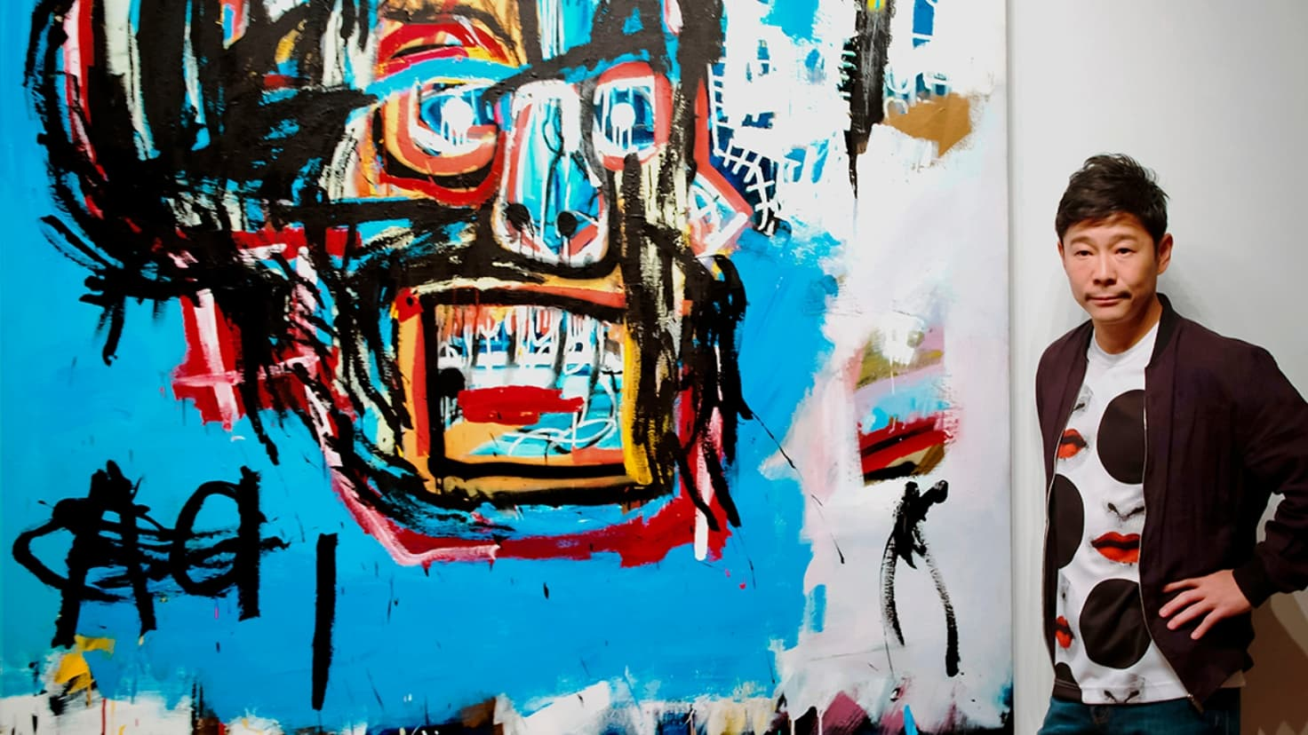 ZOZO前澤友作がサザビーズでバスキアの《Untitled》を落札